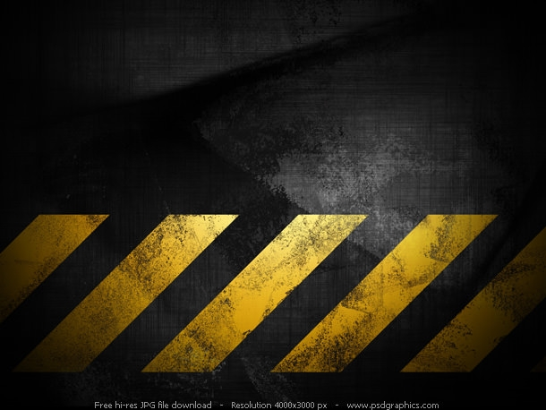 Black grunge Construction Background