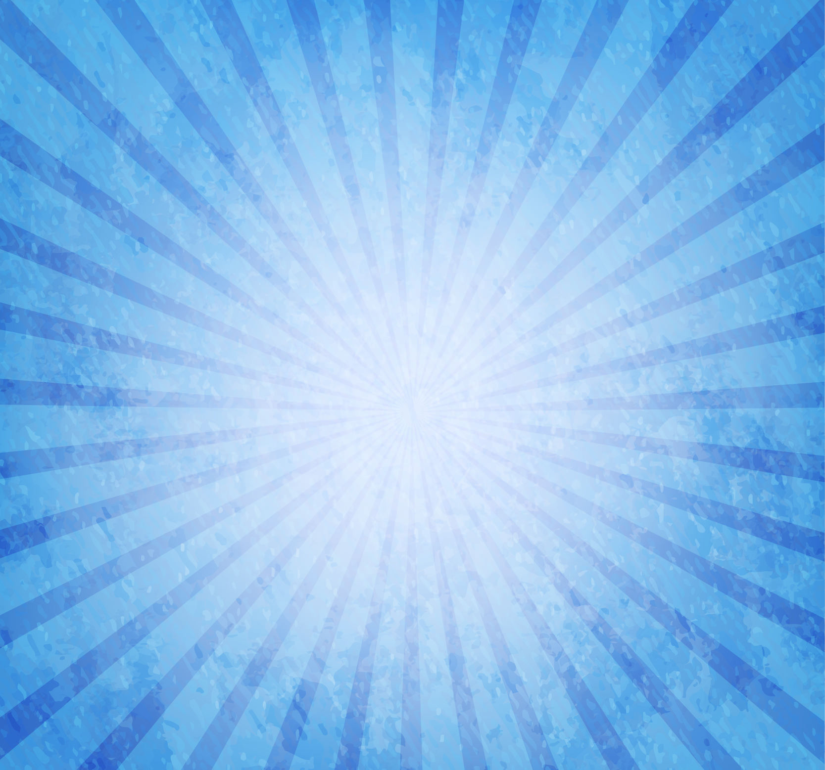 Blue Grunge Sun Burst Background