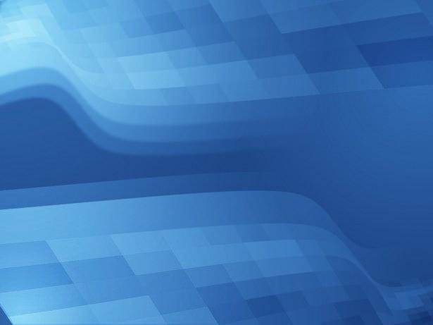 Blue Pixels Wave Background