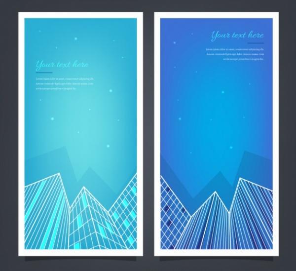 Blue Real Estate Architecture Brochure
