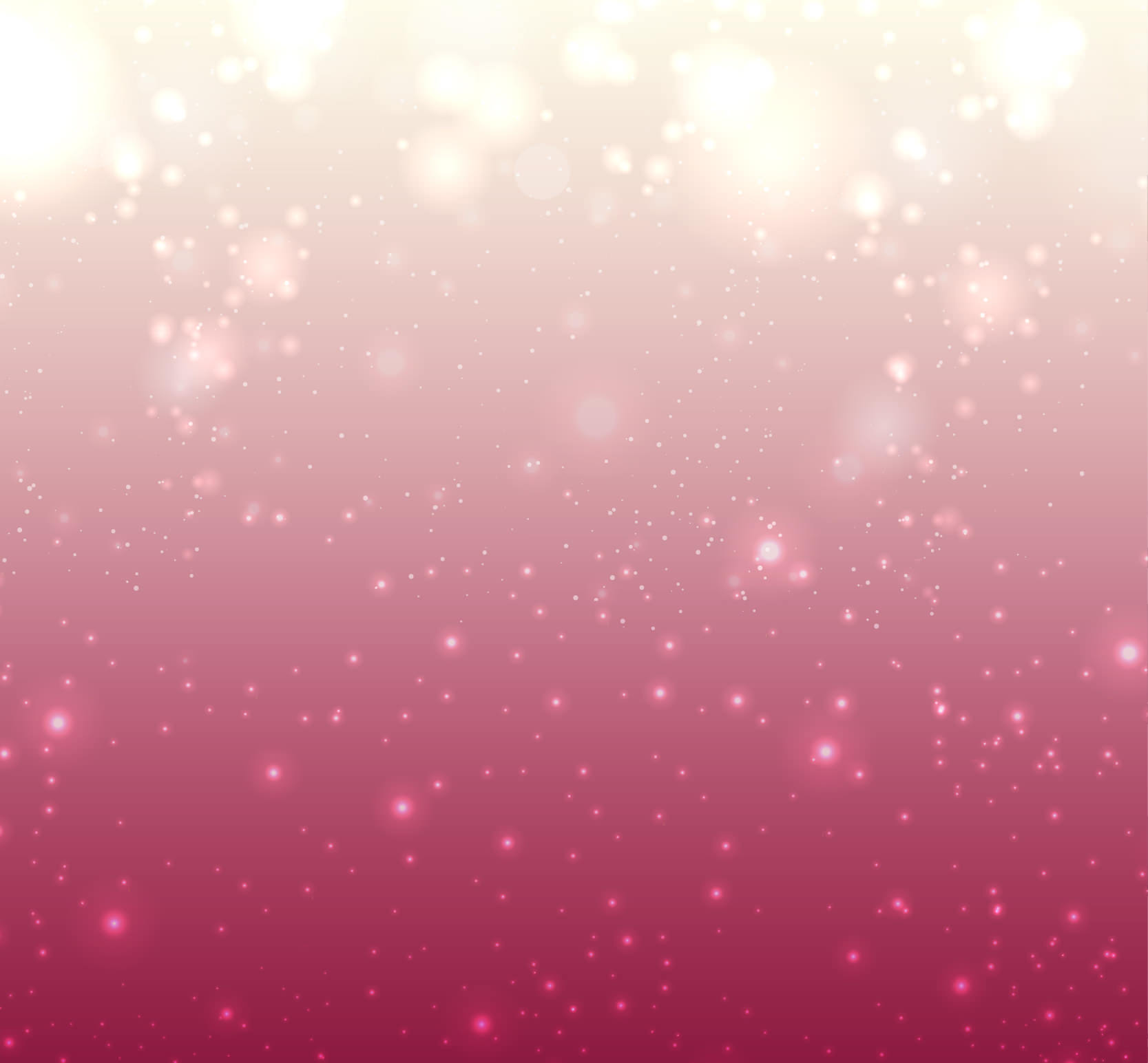 bright bokeh pink background