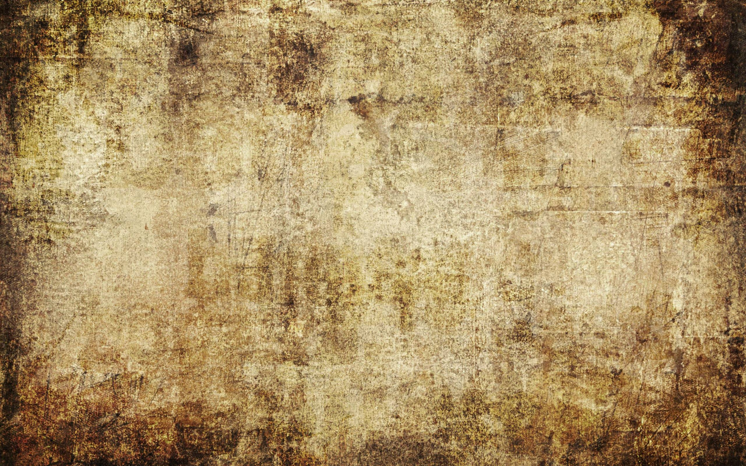 Brown Background Wallpaper with Grungy Effect