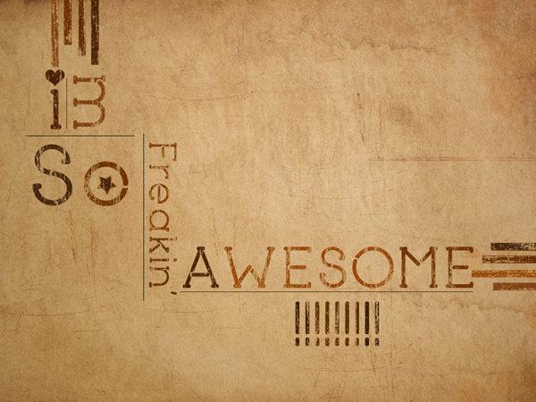 Brown Grunge Desktop Wallpaper
