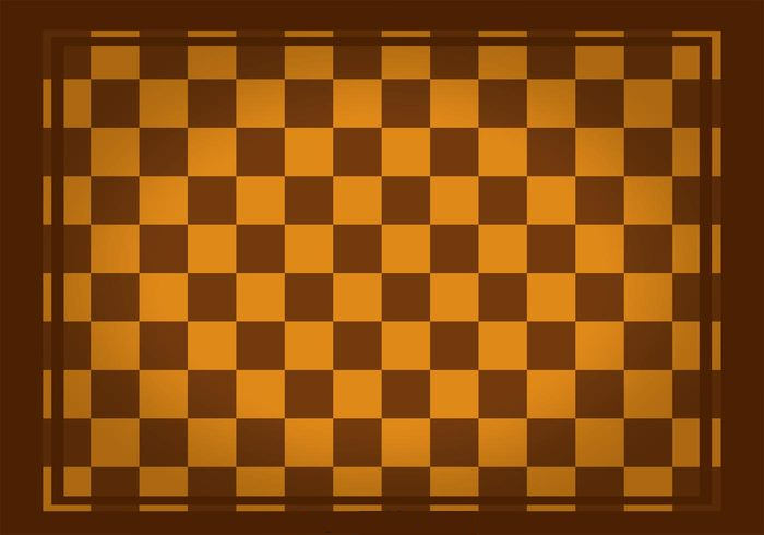 Brown Square Checker Board Pattern