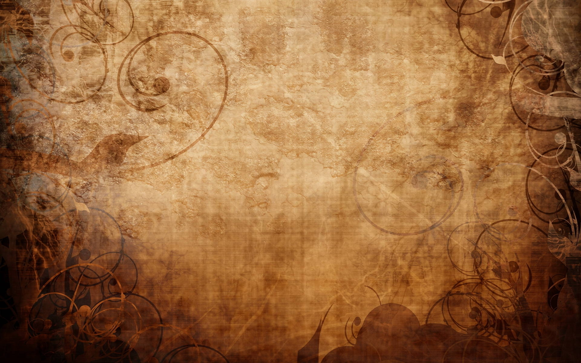 Brown Vintage HD Background Wallpaper
