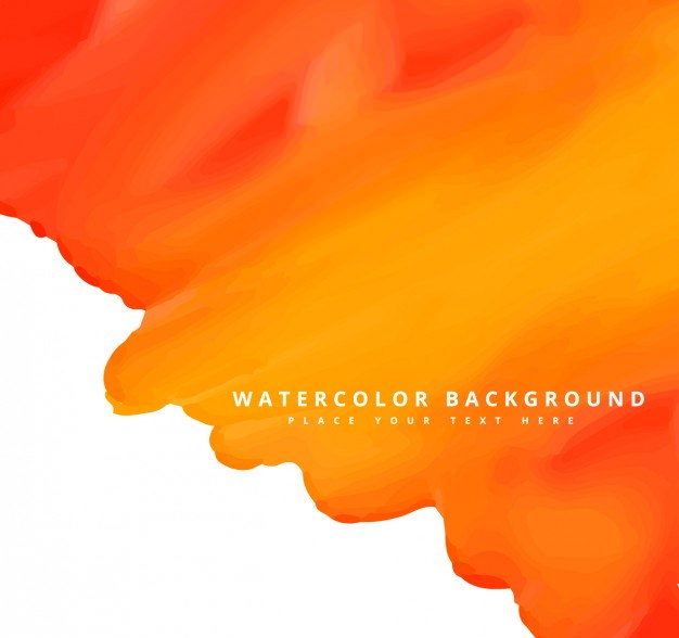 10  orange watercolor backgrounds