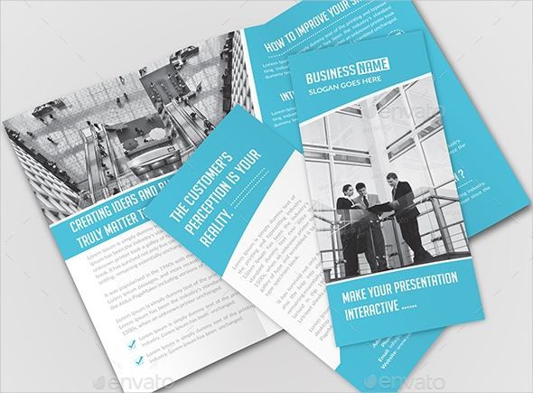 Business Promotion Tri-Fold Brochure
