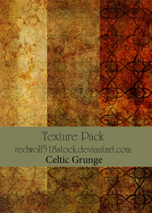 Celtic Colorful Brown Grunge Backgrounds