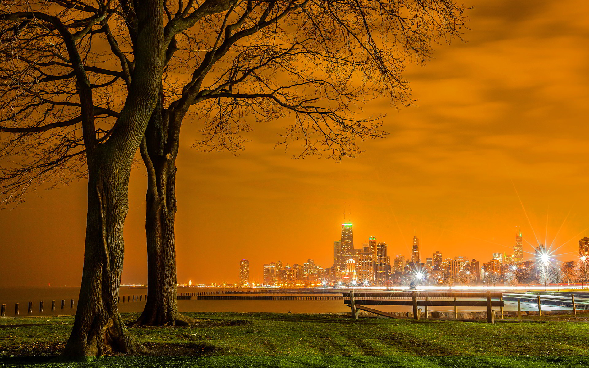 Chicago Lake Shore Drive City Wallpaper
