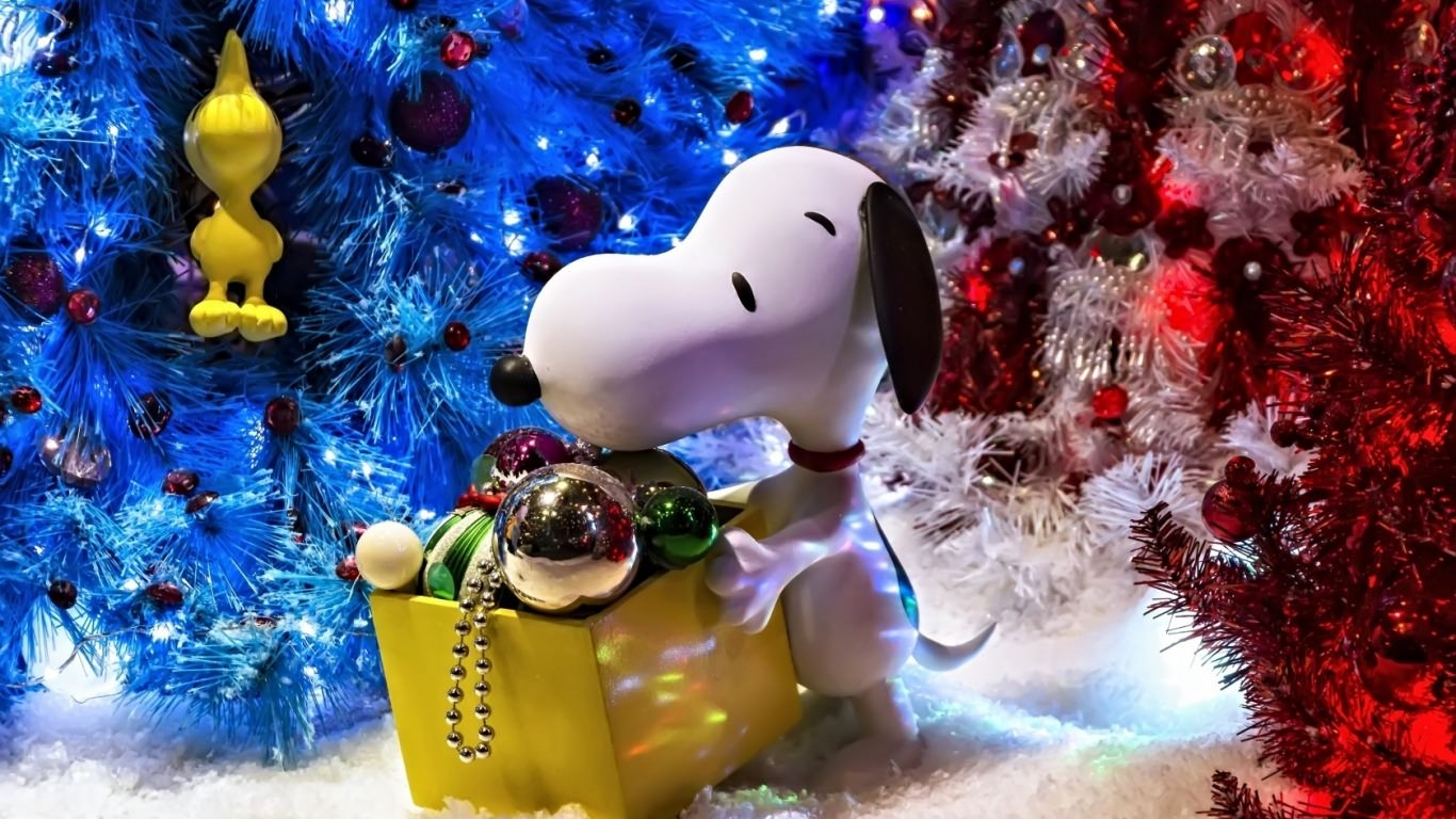 Christmas Snoopy Wallpaper
