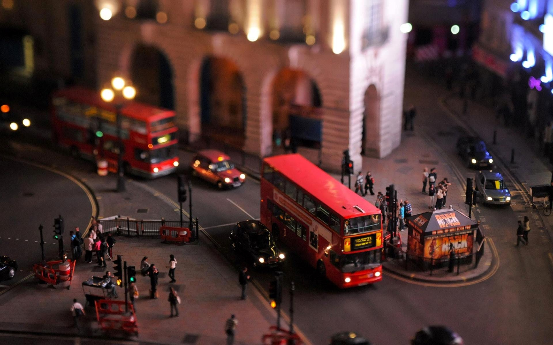 City of London Tilt Shift Wallpaper