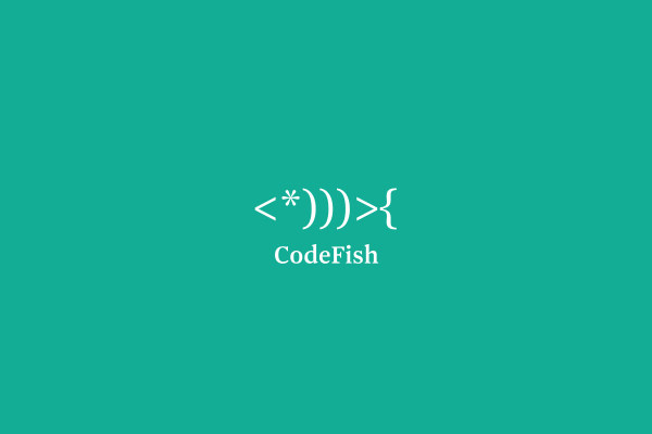Code Fish Logo Design
