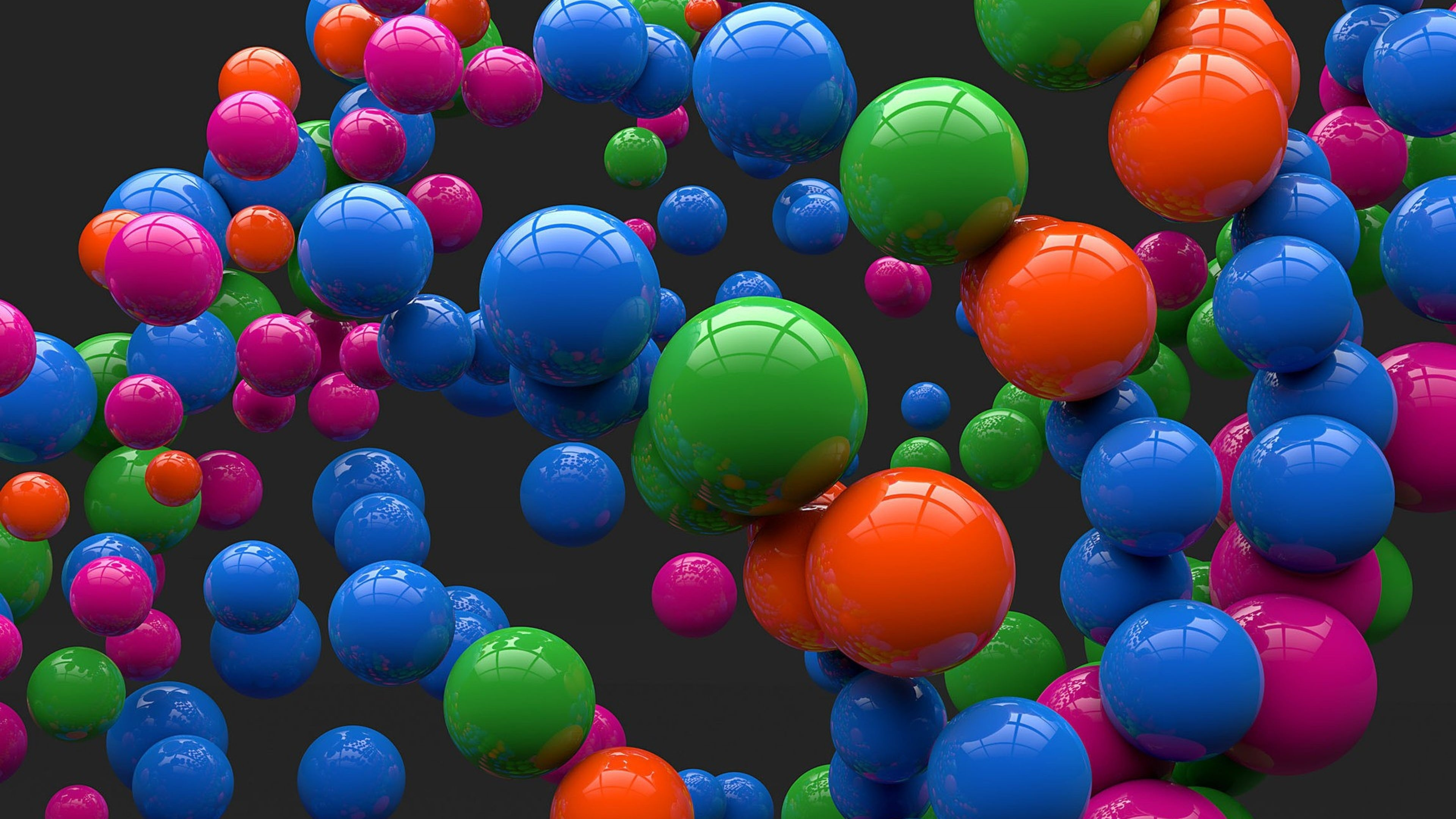 Colorful Balloons Flight Wallpaper