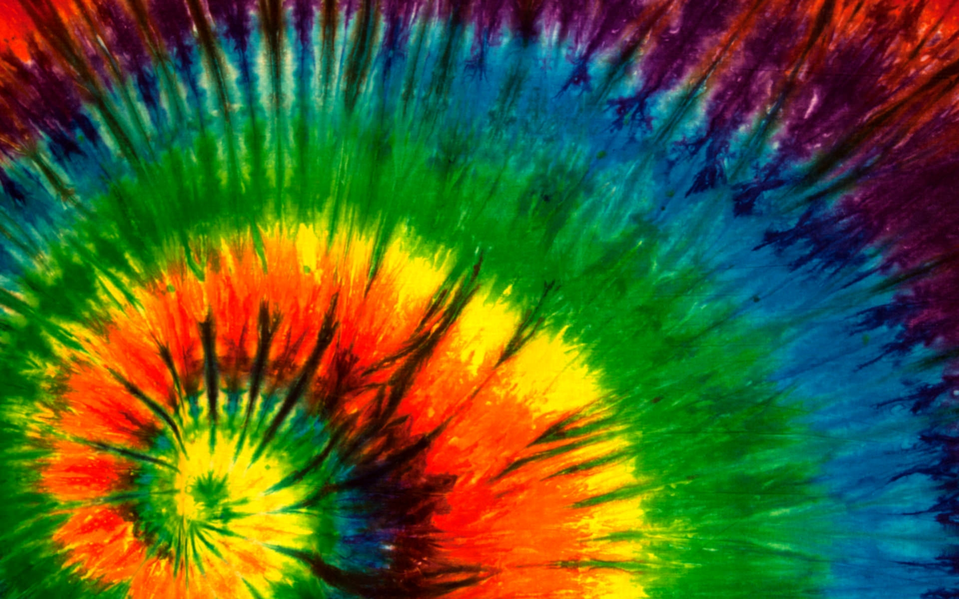 Colorful Hippie Background