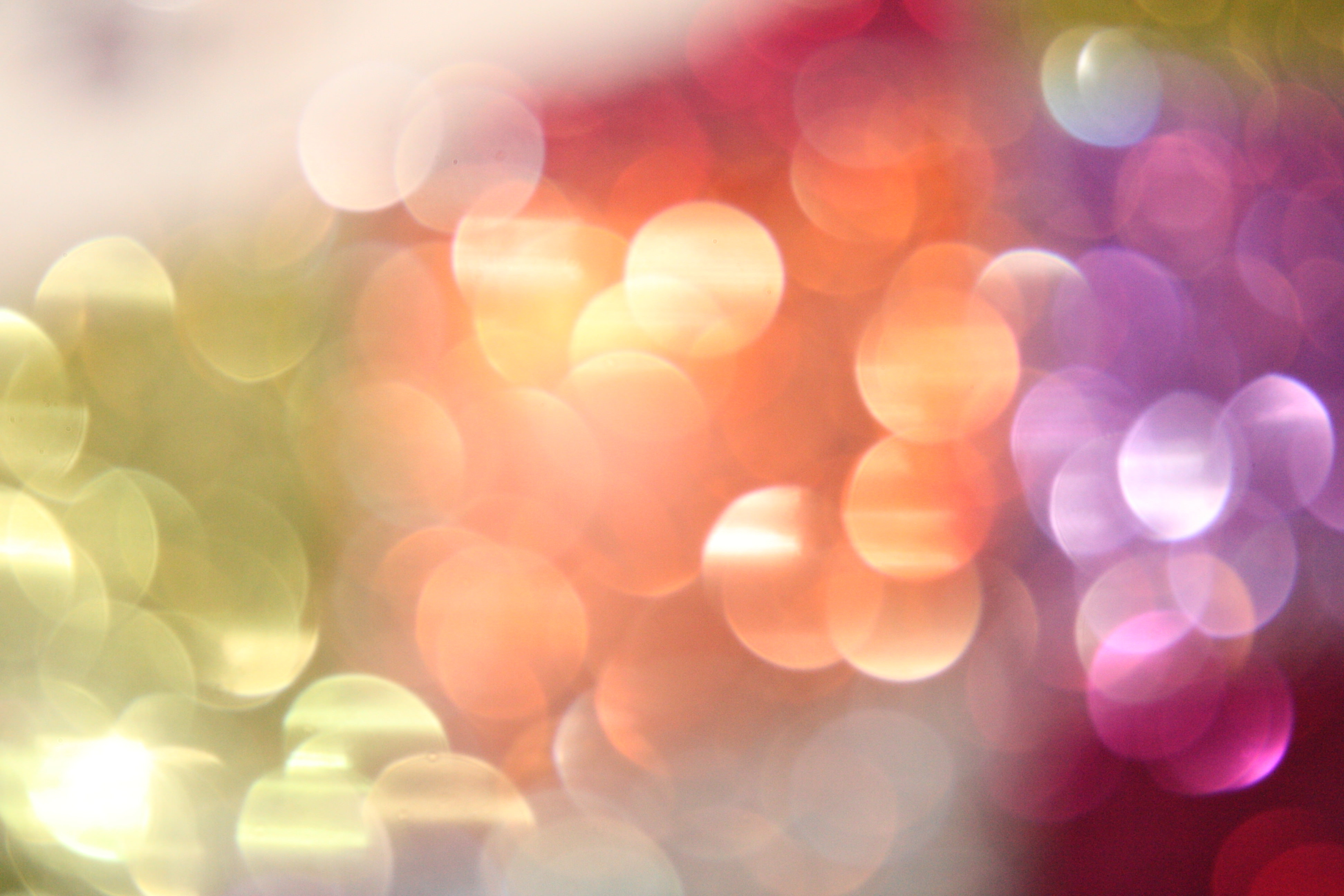colorful light bokeh texture