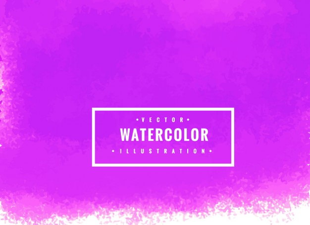 Colorful Purple Watercolor Background for Graphics Artwork