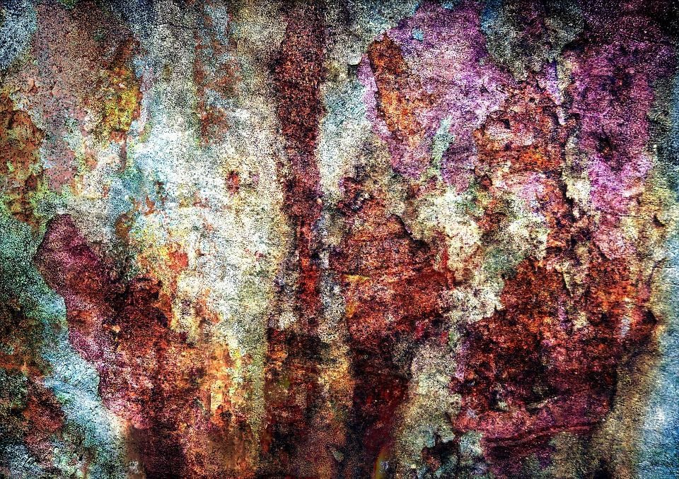 Colorful Rust Texture
