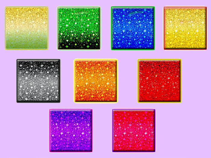 colorful rainbow glittering patterns