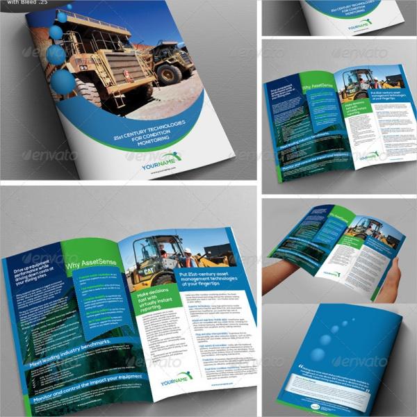 Company Construction Brochure Design