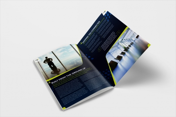 Construction Brochure Template InDesign
