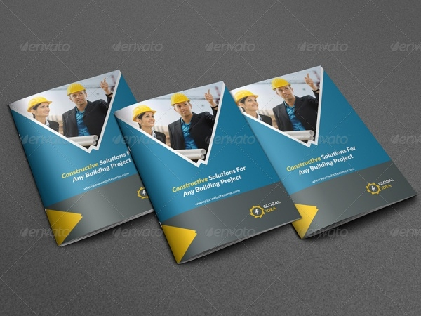 Construction Brochure for Business