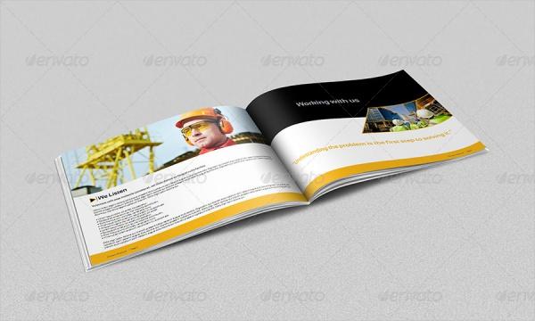 Construction Industry Brochure Design