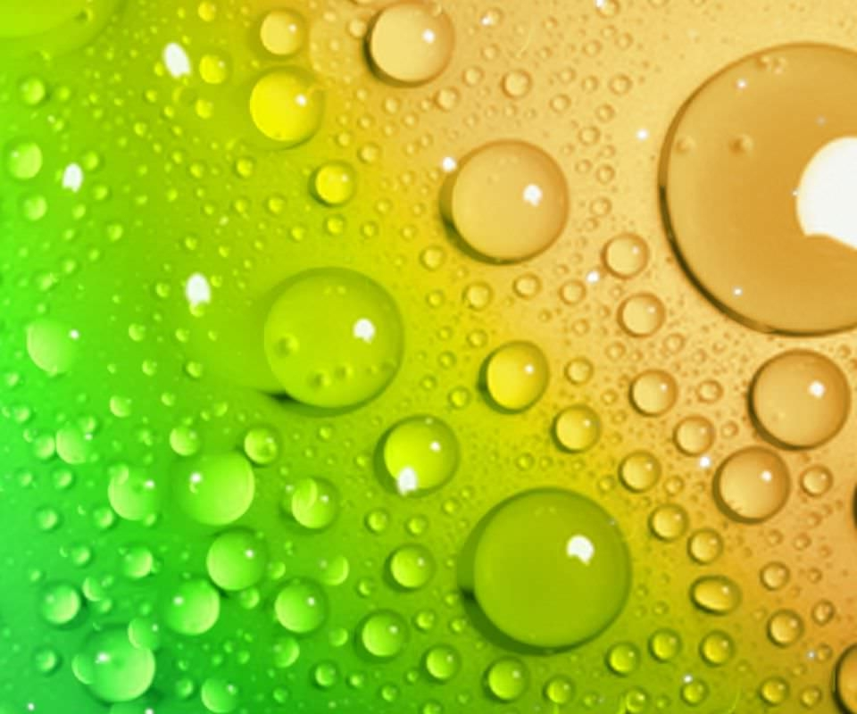 Colorful Water Drop Wallpaper