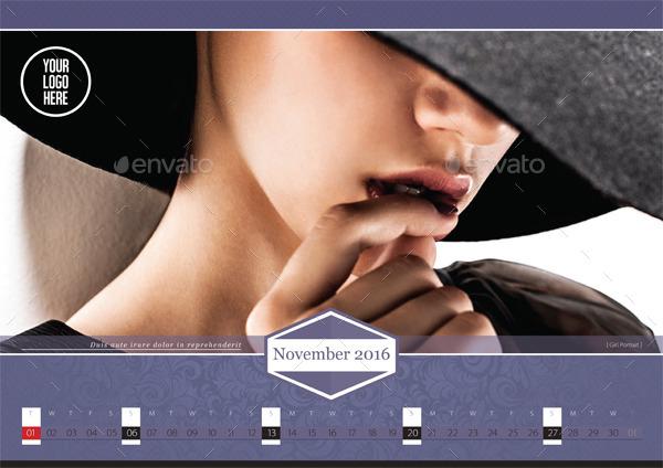 Corporate Business Calendar Design
