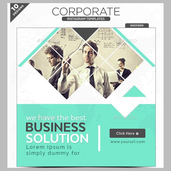 corporate instagram banner design