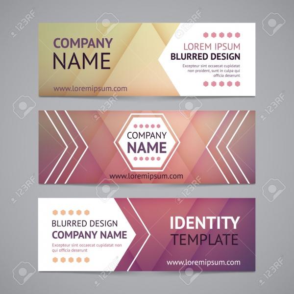 Corporate Vector Company Banner Design