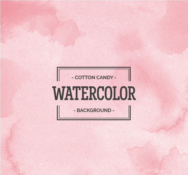 Cotton Candy Watercolor Background