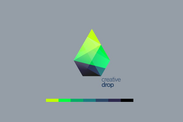 Creative Drop Logo Design