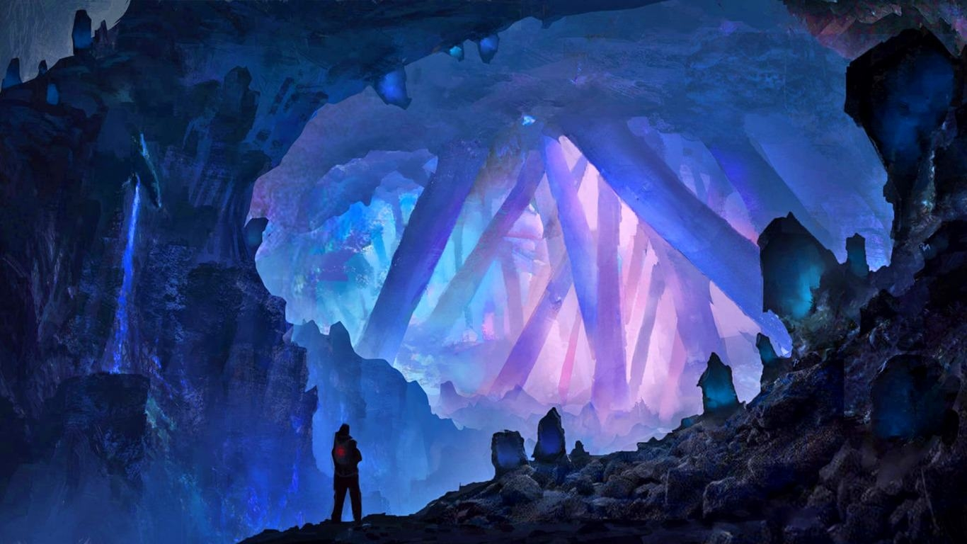 Crystal Cave background