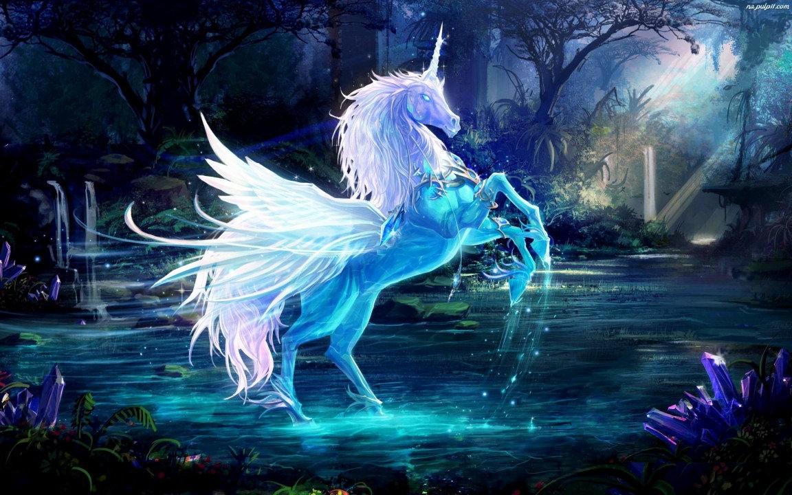 Crystal fantasy Background