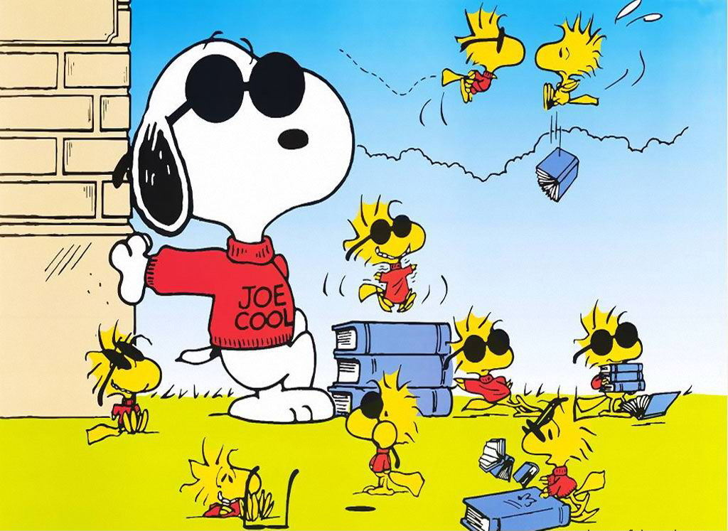 Cute Snoopy Wallpaper