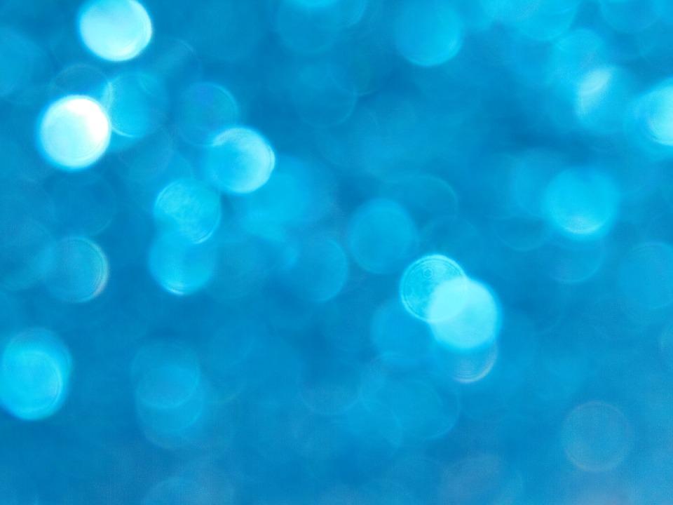 Dark Blue Bokeh Background Texture