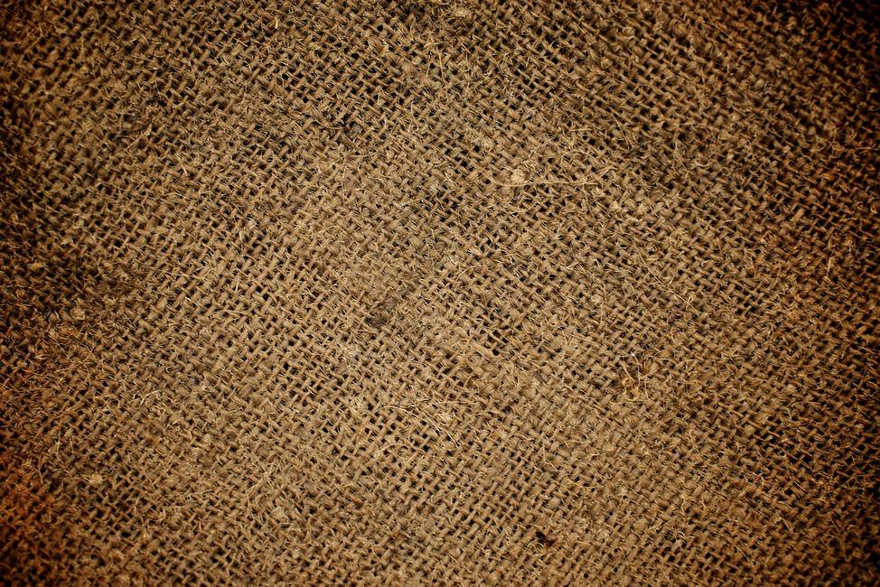 Dark Grunge Burlap Texture