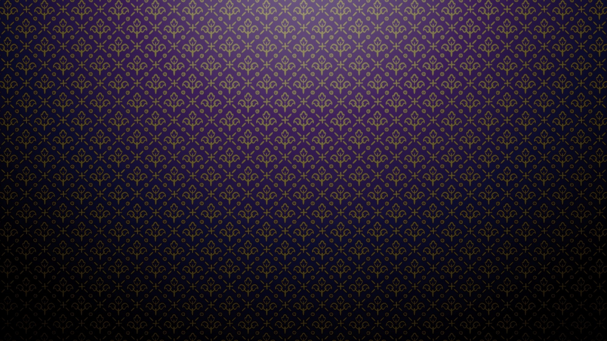 Dark Purple Floral Pattern For Free