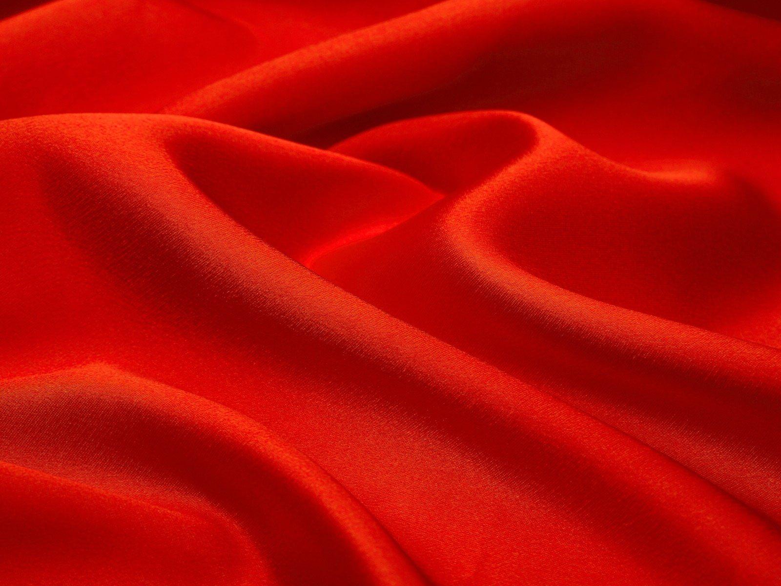 Dark Red Silk Fabric Texture