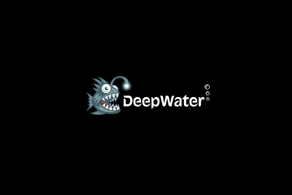 Deep Water Fish Logo