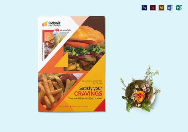 Delicious Fast food Flyer Template