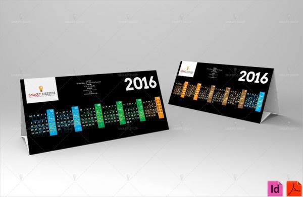 Desktop Business Calendar Design