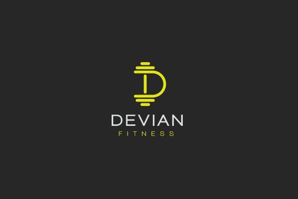 Devian Fitness Sport Logo