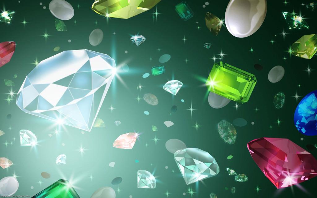 Diamond Crystal Background