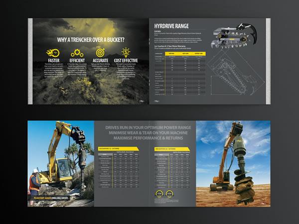 Digga Corporate Construction Brochure Design