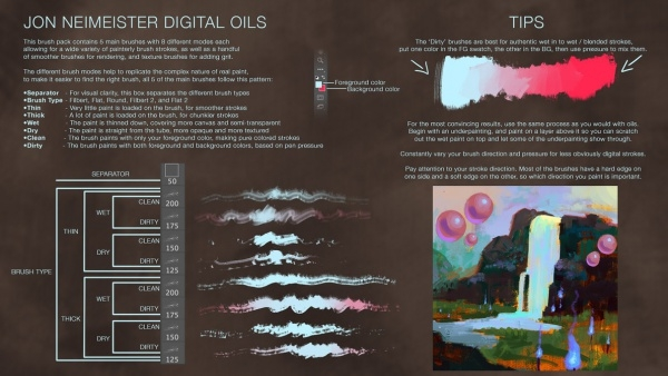 21+ Oil Photoshop Brushes - ABR, ATN Download