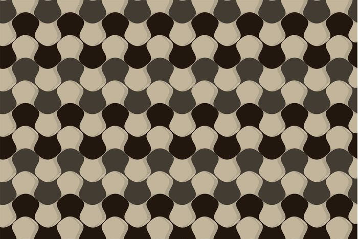 Distorted Checker Board Pattern Vector