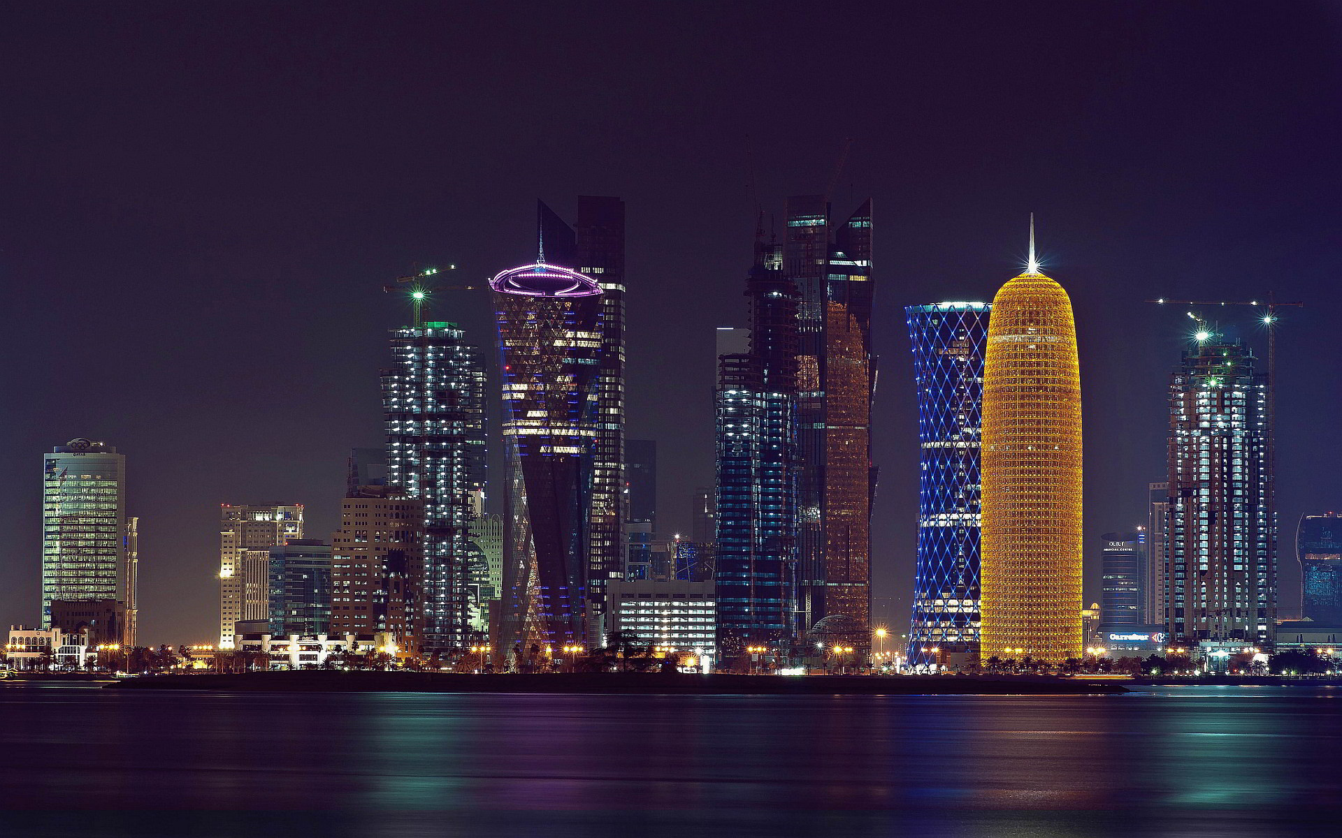 Doha Qatar HD City Wallpaper