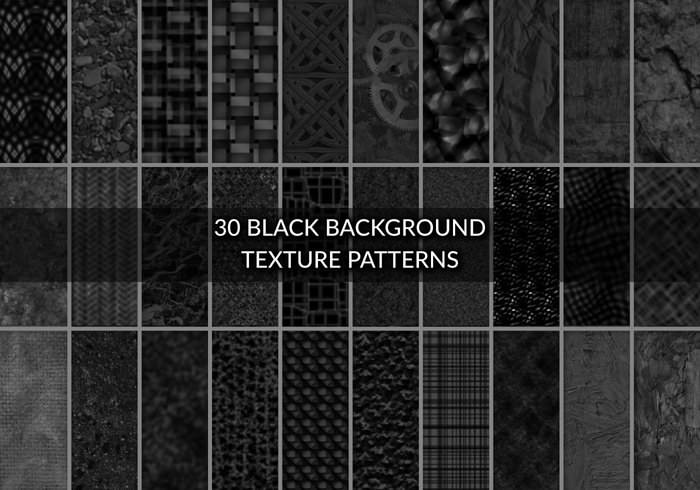 Download 30 Black Grunge Textures and Patterns