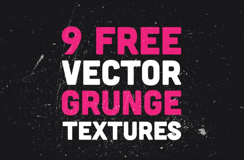 Download 9 Free Vector Distressed Grunge Textures